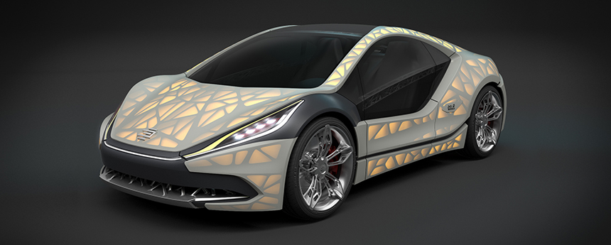 Концепт спортивного автомобиля EDAG Light Cocoon