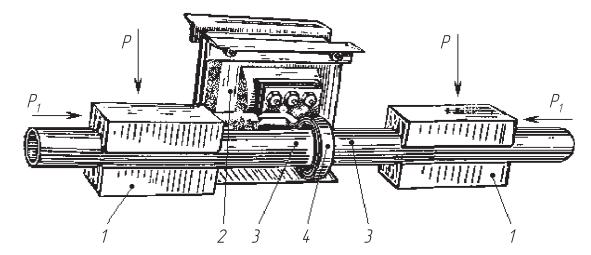 Схема стыковой сварки труб