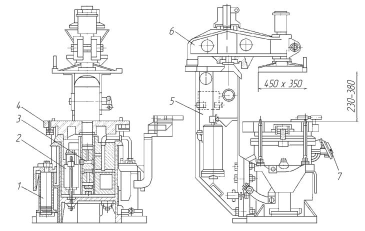 Вибропрессовая формовочная машина модели 226