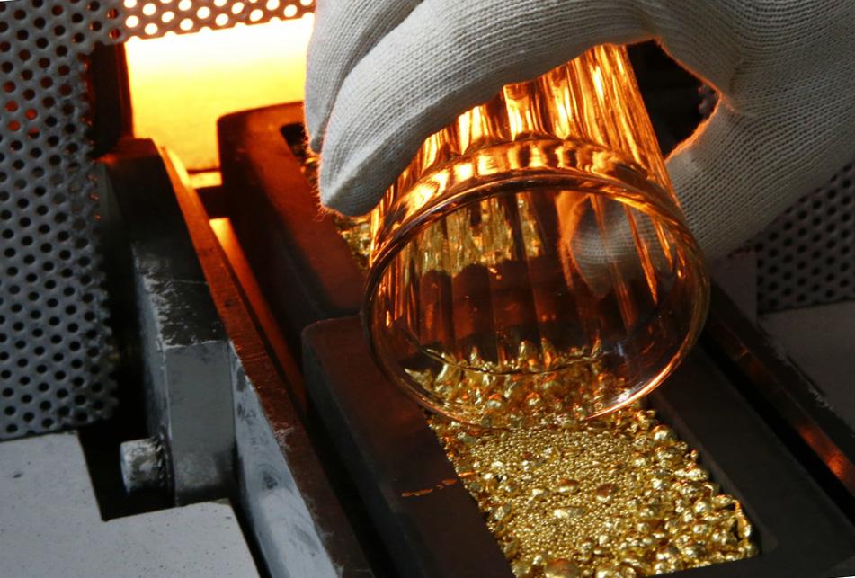 Золото производство