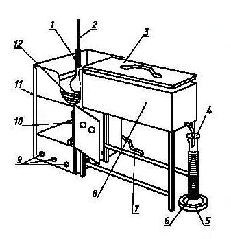 Аппарат для ручной разгонки нефтепродуктов