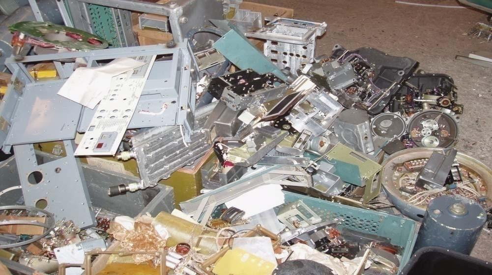 Блоки, узлы и элементы лома радио- и электротехнических изделий