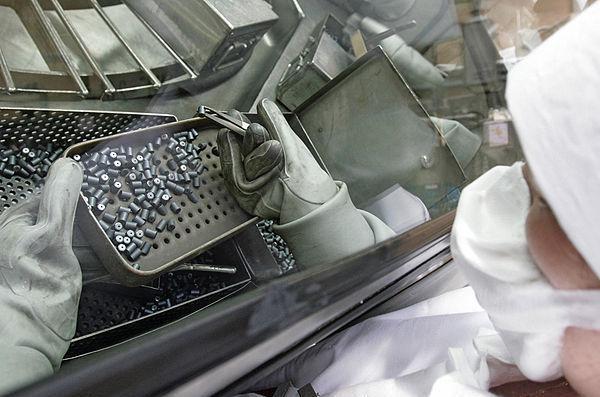 Элементарные кирпичики плутониевого топлива