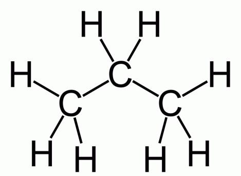 Формула сжиженного нефтяного газа