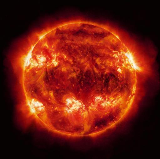 Фотоснимок солнца