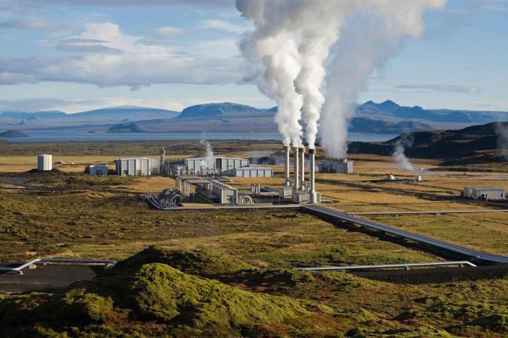 ГеоТЭС Несьявеллир, Исландия