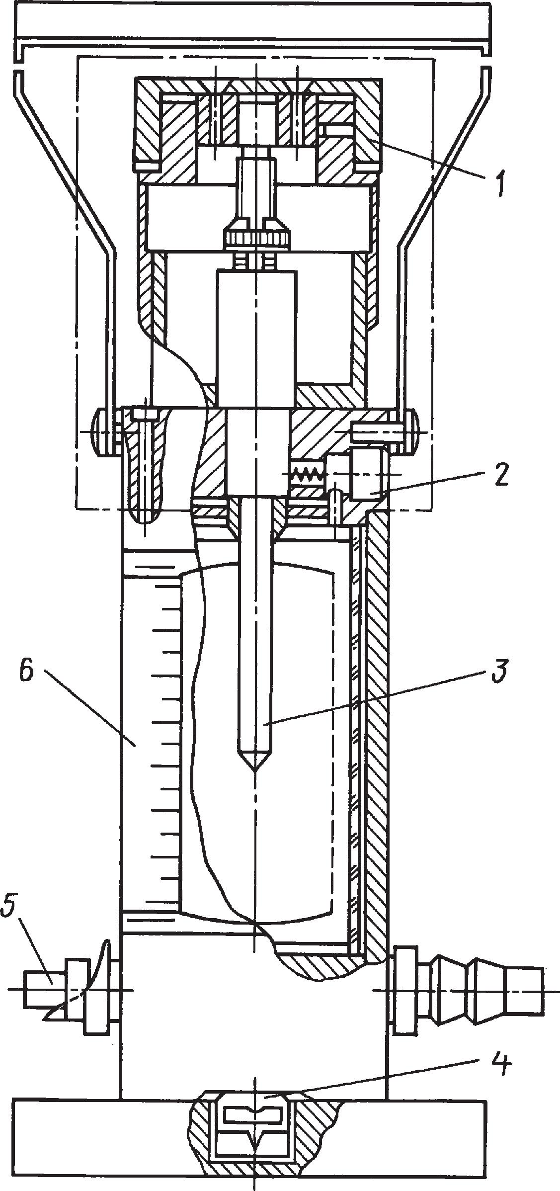 Гидростатический уровень завода «Калибр» типа 114