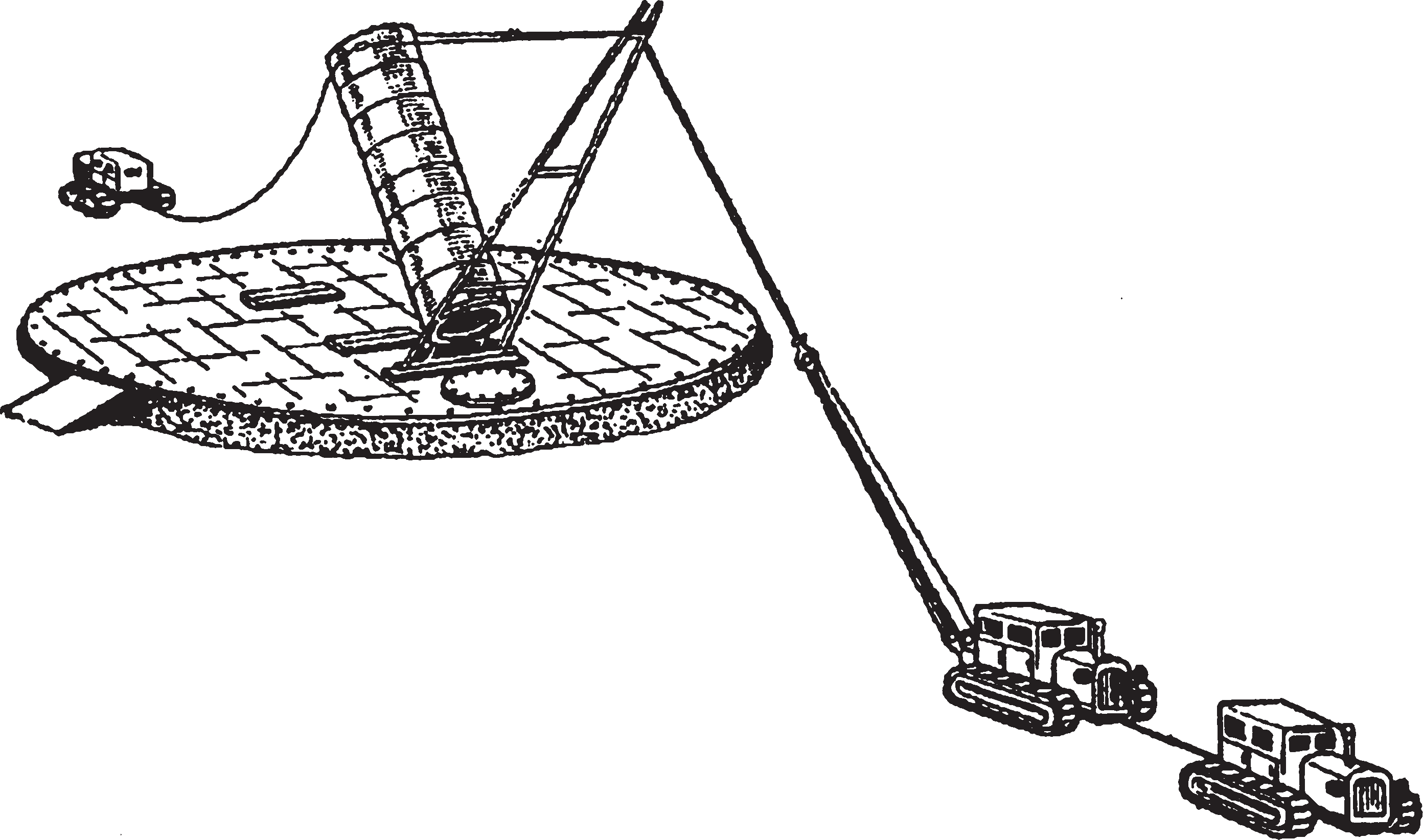 Конструкция и применение шевра при монтаже резервуара