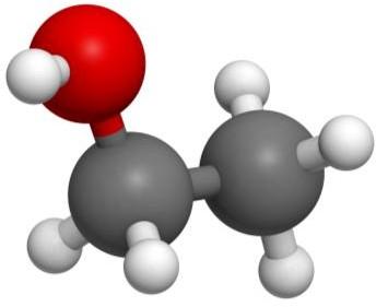 Молекула метанола