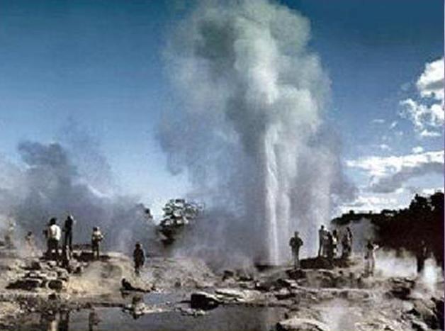 Первый тип источников геотермальной энергии – подземные бассейны естественных теплоносителей