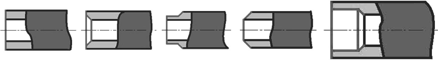 Примеры разделки трубы труборезом 2Т