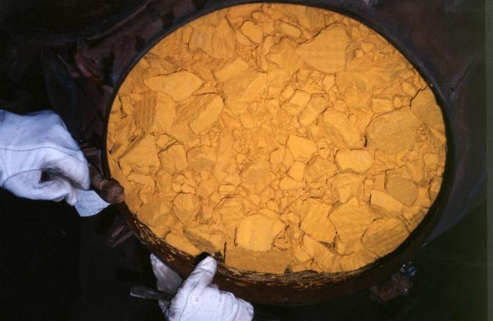 Природный уран