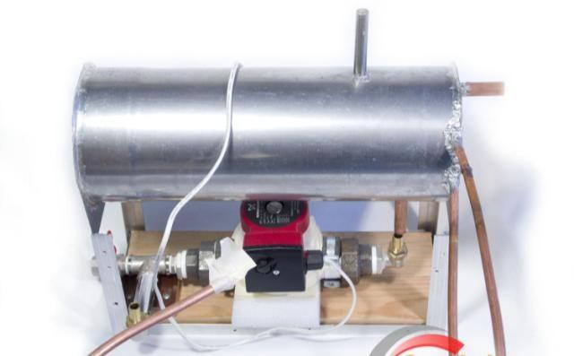 Резервуар теплообменник