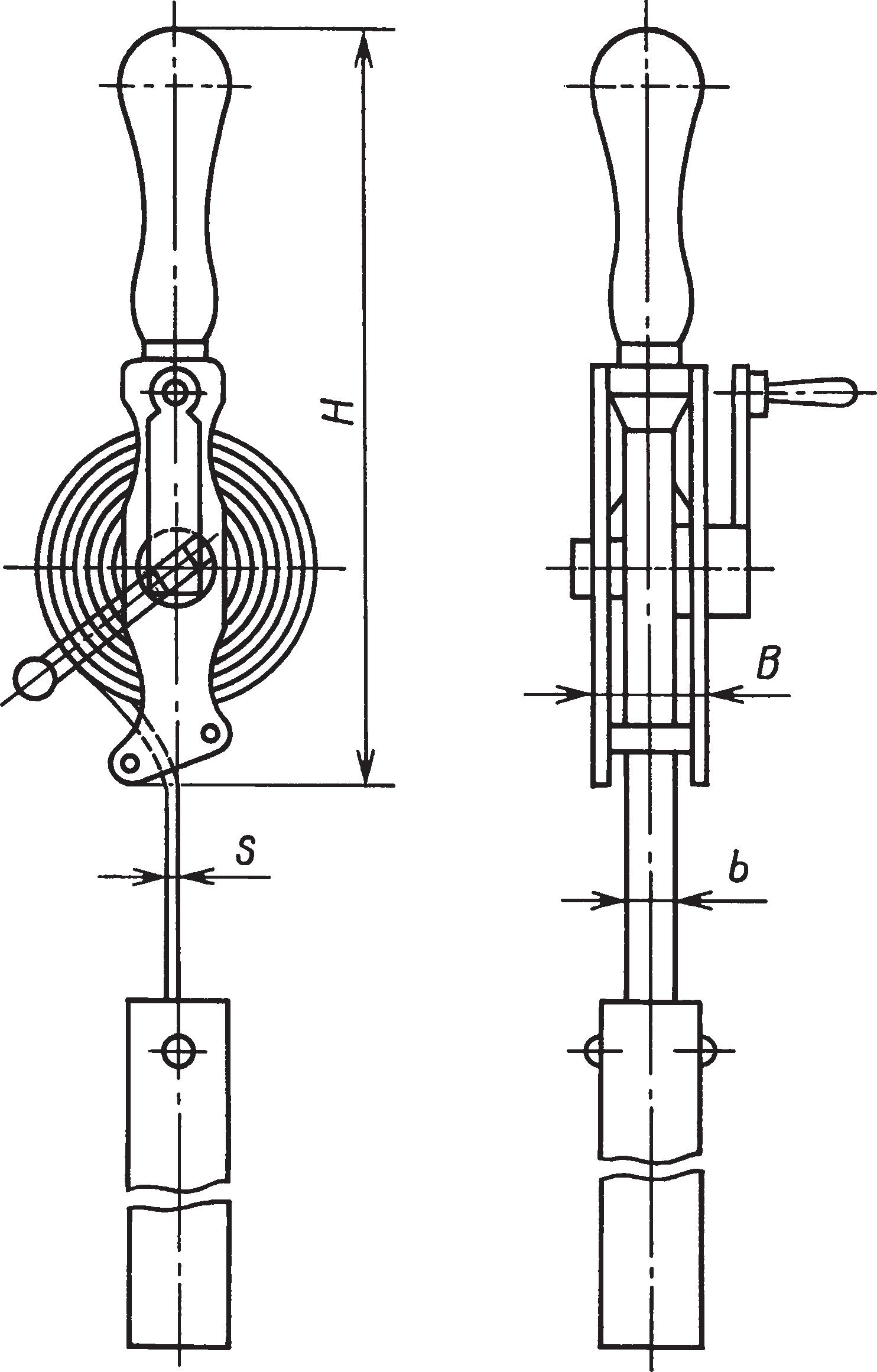 Рулетка в открытом корпусе с грузом