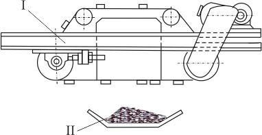 Схема установки сепаратора (железоотделителя)