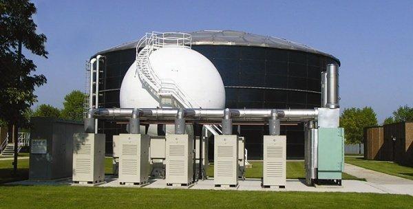 Установка, генерирующая электричество из бурого угля