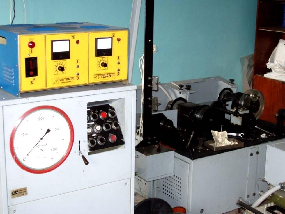 Установка гидропрессования для получения микропровода с возможностью отжига и химобработки в процессе волочения.