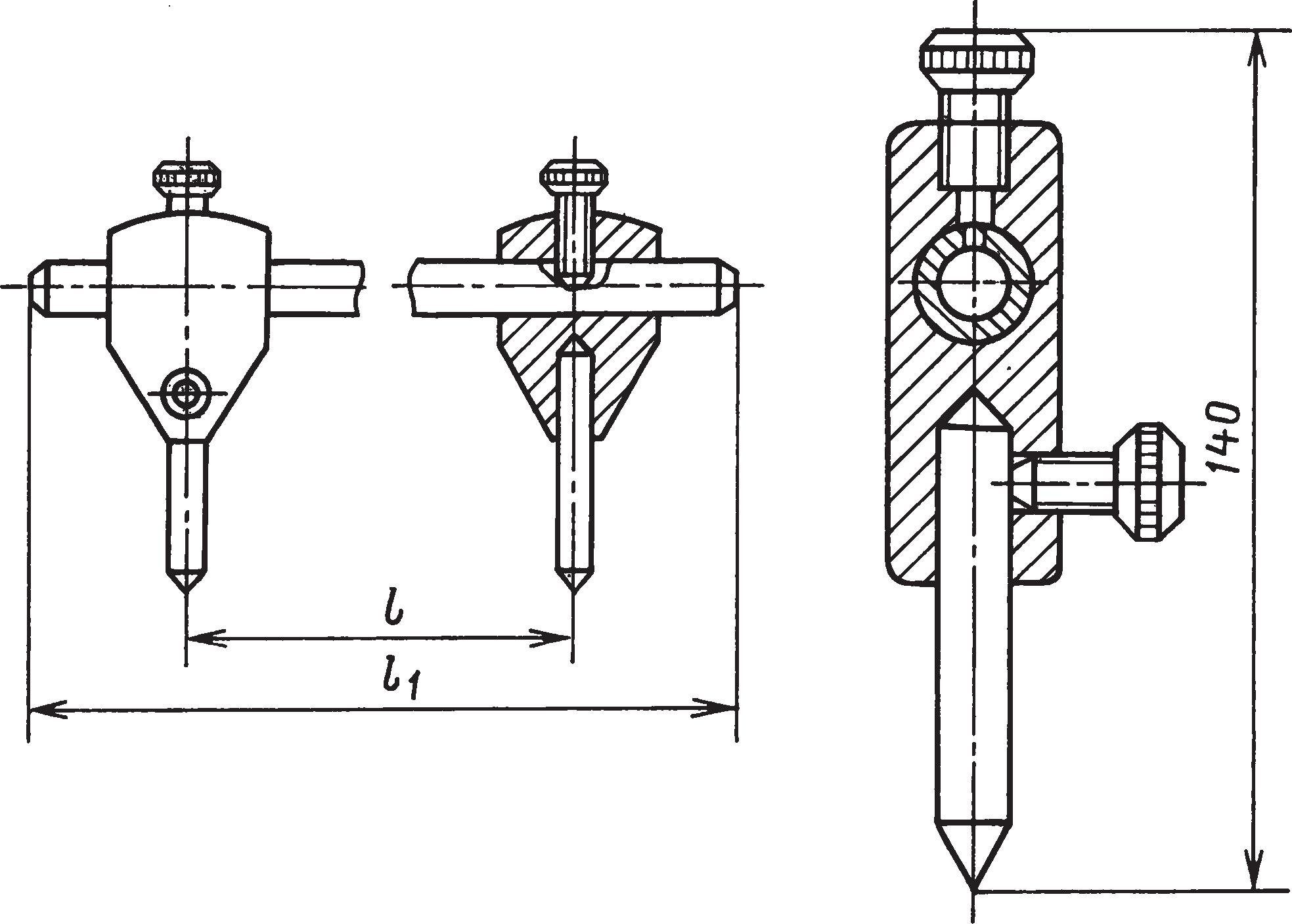 ЦиркулиДля разметки диаметров