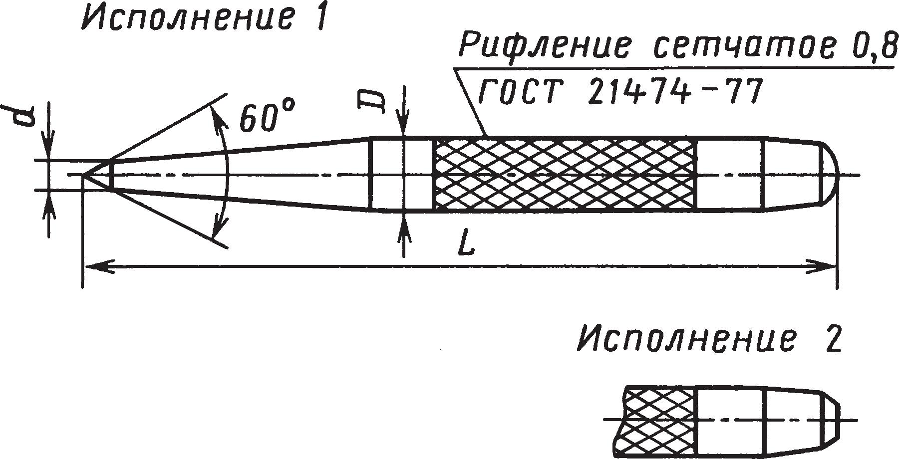 Кернеры (ГОСТ 7213–72)
