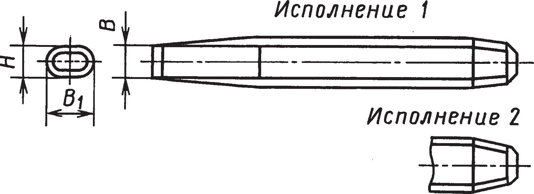Слесарные зубила (ГОСТ 7211–86)