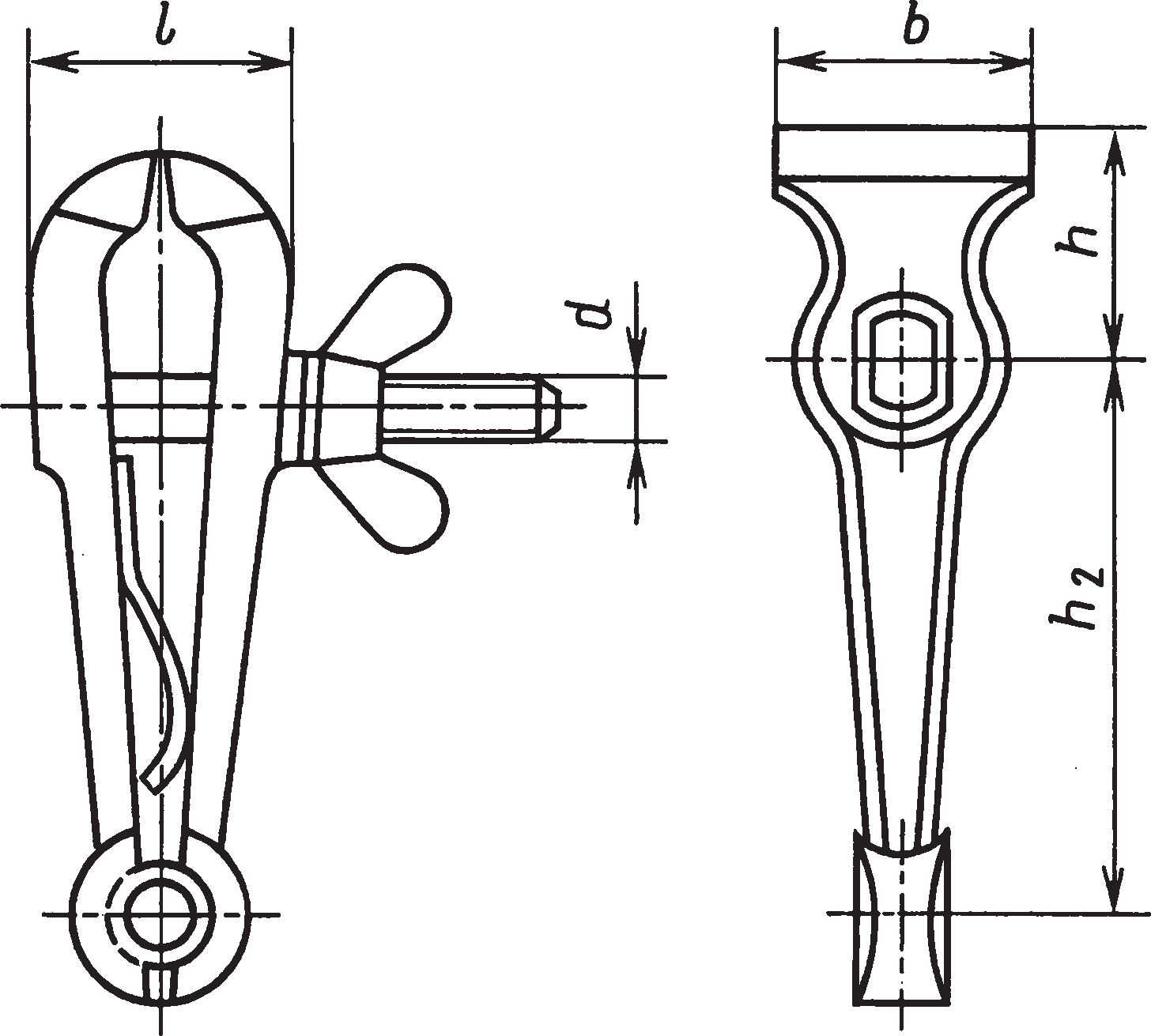 Ручные тиски (ГОСТ 28241–89)