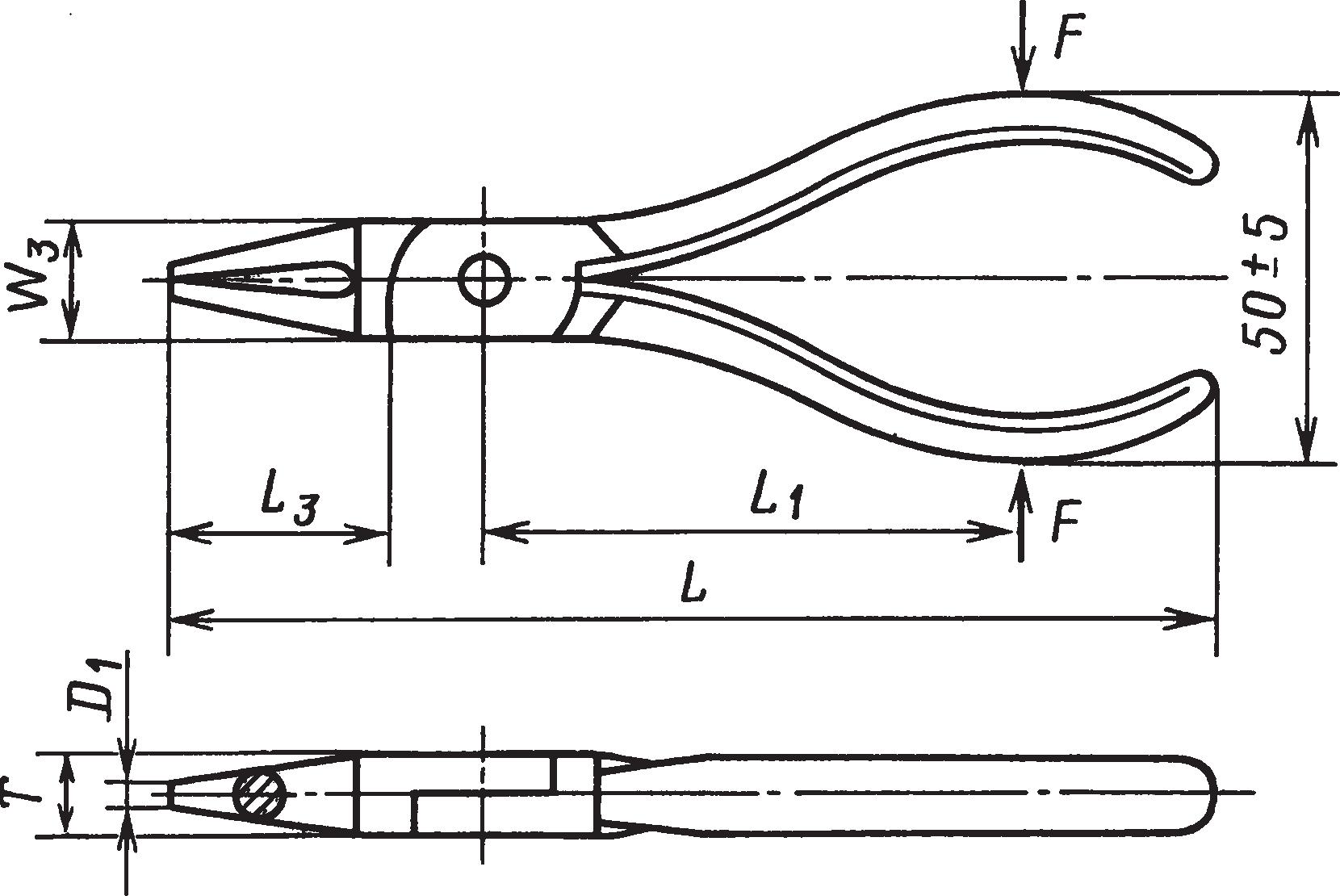 Круглогубцы (ГОСТ 7283–93)