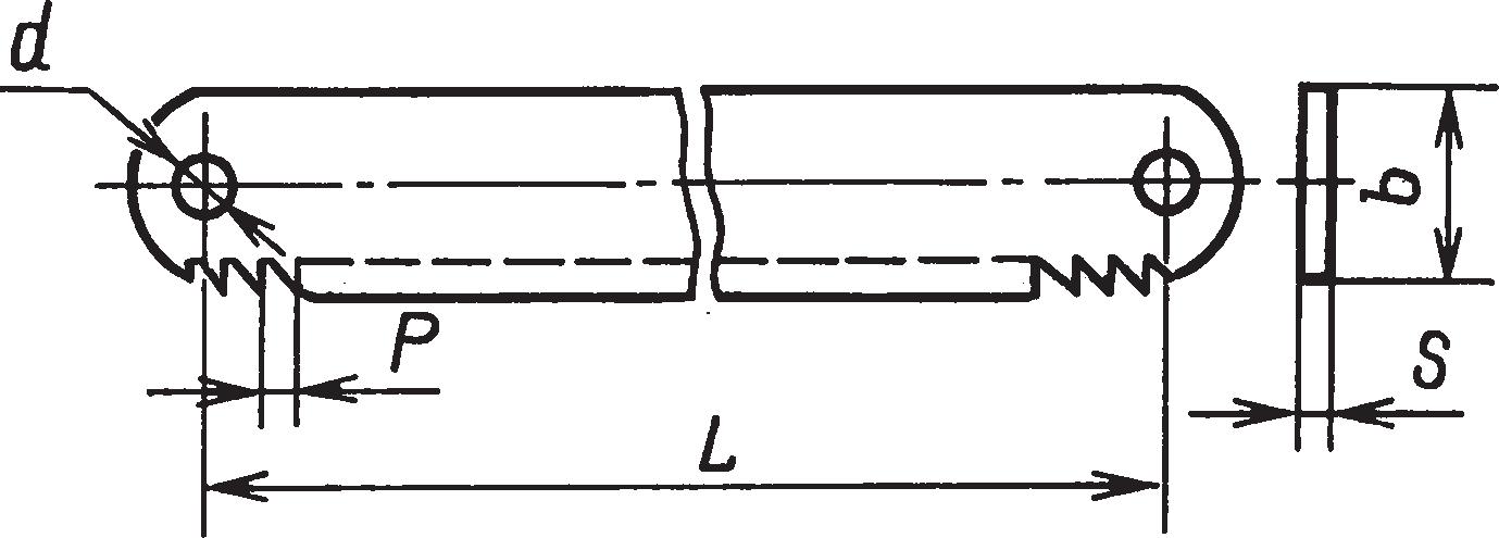 Ножовочные ручные полотна для металла (ГОСТ 6645–86)
