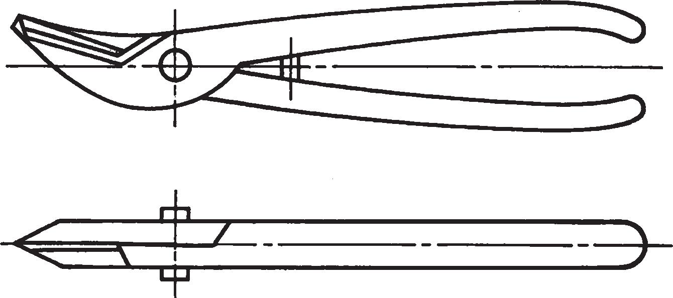 Ручные ножницы для резки металла (ГОСТ 7210–75)