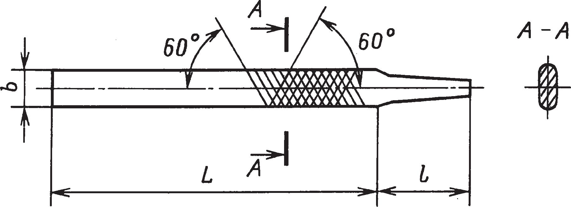 Напильники для затачивания пил по дереву (ГОСТ 6476–80)