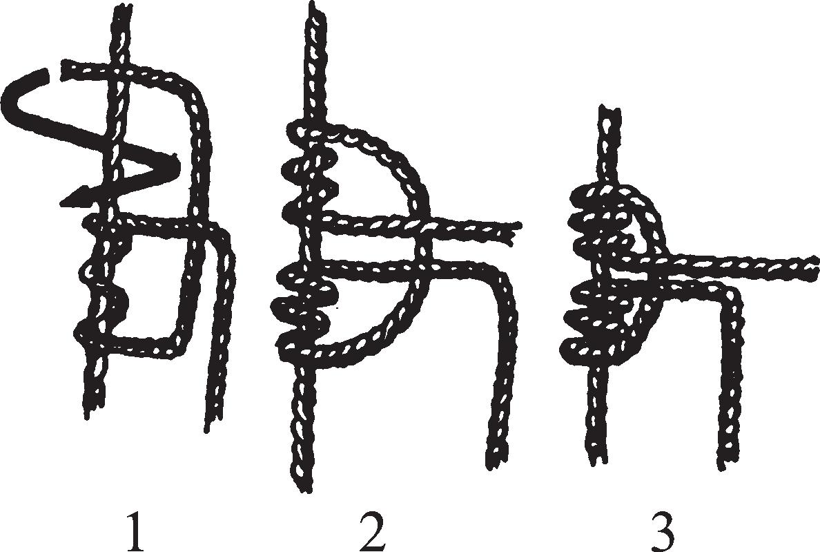 Тройной скользящий узел