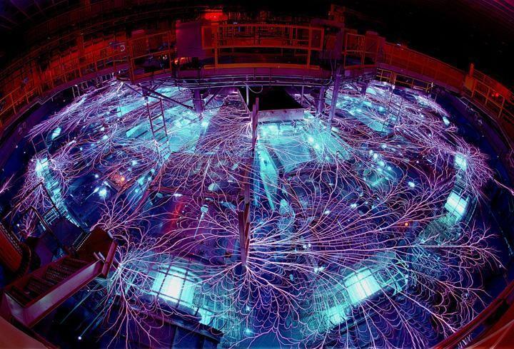 Ядерный реактор. Вид изнутри