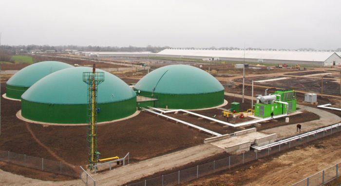 Заводы производящие биогаз
