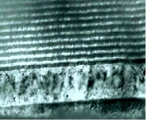 Структура двухмерного нанокомпозитного покрытия