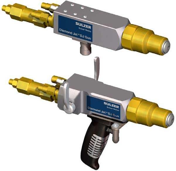 Air-Cooled Diamond Jet® Spray Guns