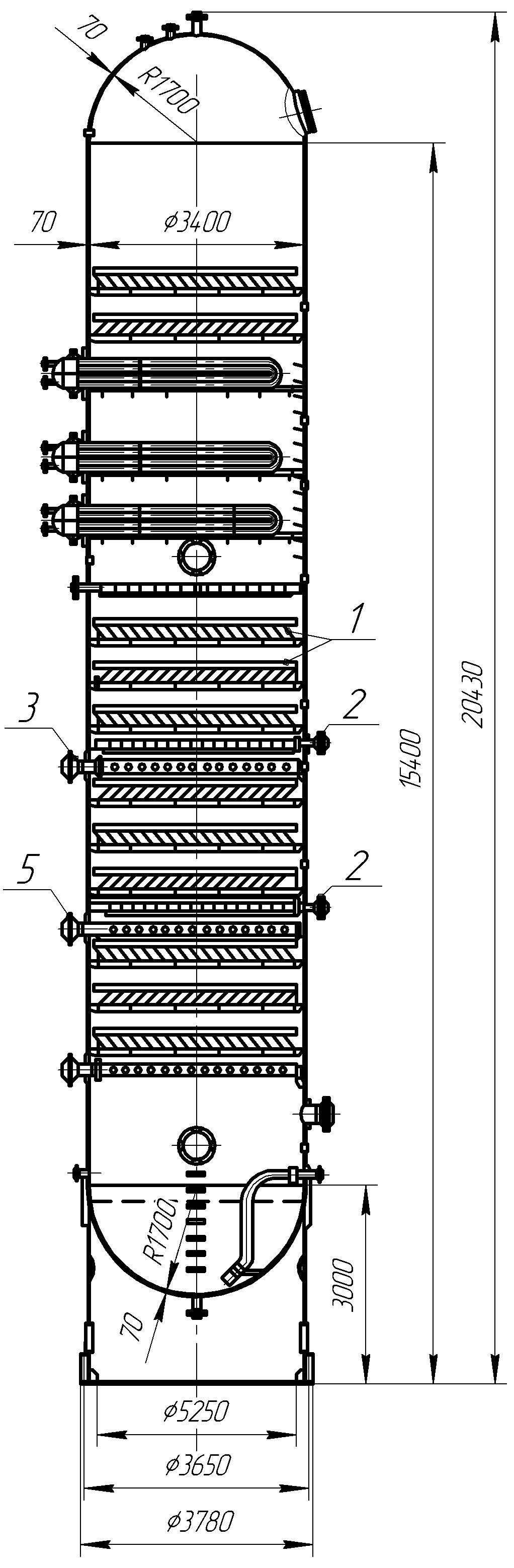 Экстракционная колонн