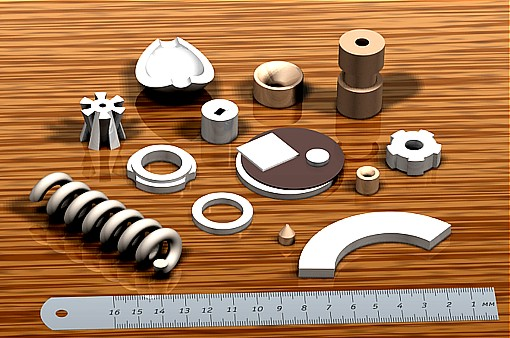 Изделия, изготовляемые по технологии из нанопорошков керамики.