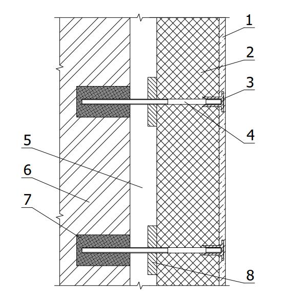 Конструкция системы утепления стен «Термический экран»