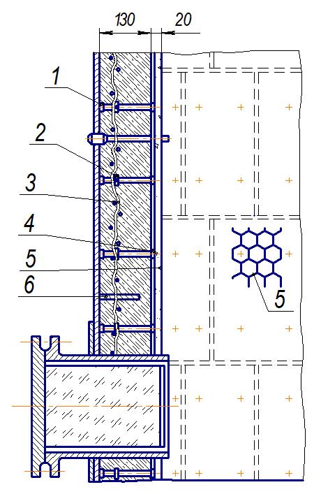 Конструкция торкрет-бетонного покрытия
