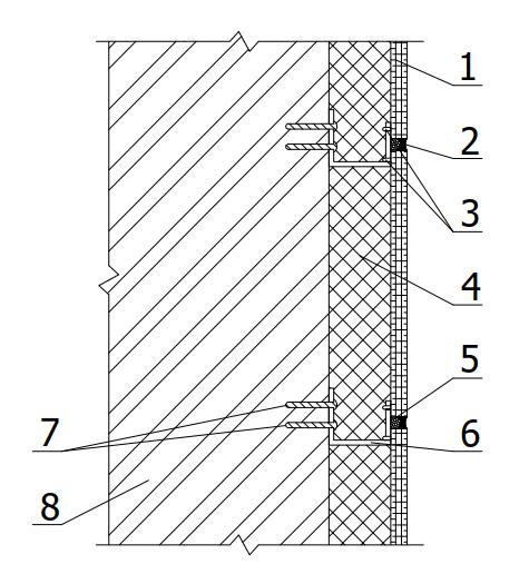 Конструктивное решение «Облицовка из защитно-декоративных панелей»