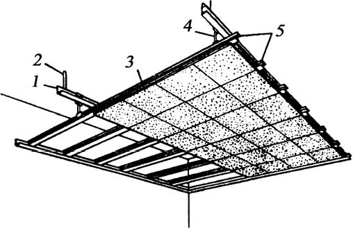 Крепление декоративных акустических плит «Акмигран» и «Акминит»