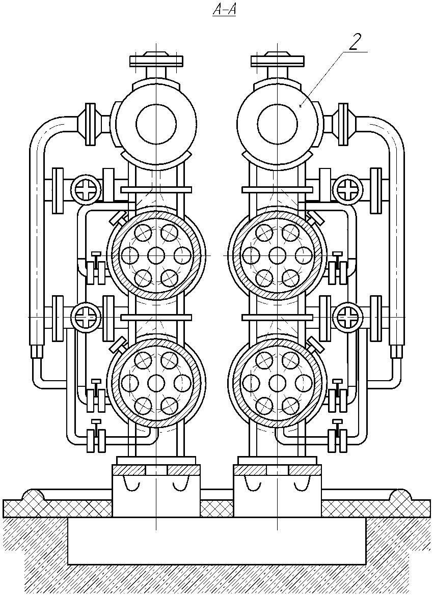 Кристаллизатор кожухотрубчатый