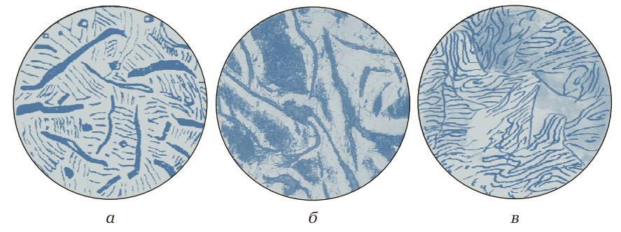 Микроструктуры литейных серых чугунов