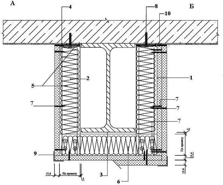 Облицовка фахверковой колонны