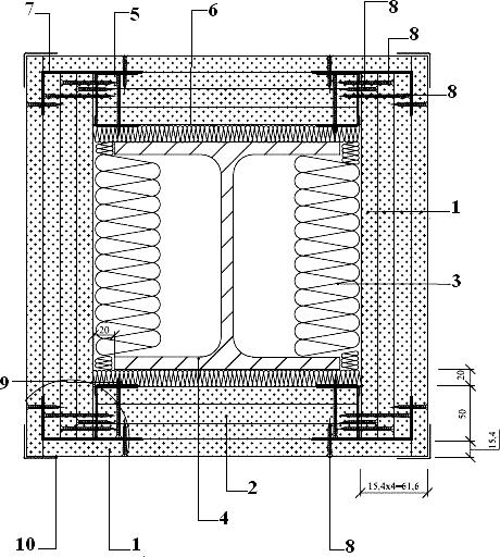 Облицовка колонны. Обшивка четырьмя слоями