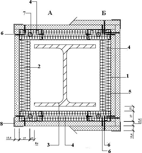 Облицовка колонны с применением потолочных профилей