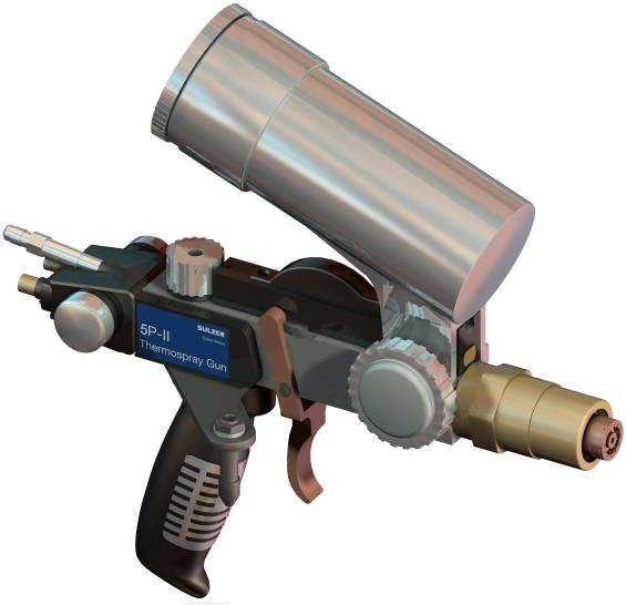 Пистолет 5P-II от Sulzer Metco