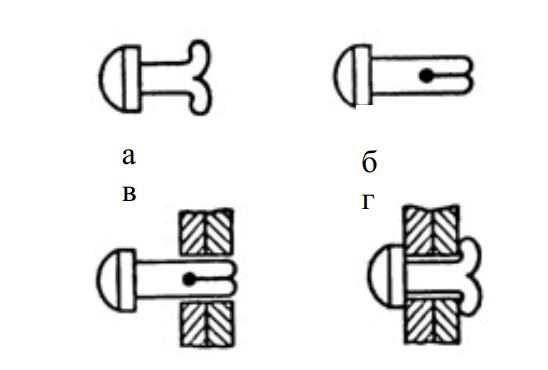 Принцип действия стопора с эффектом памяти формы