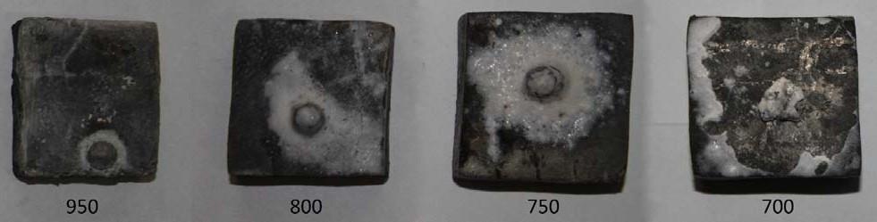 Растекание алюминия АК12 по наплавленному интерметаллидному сплаву