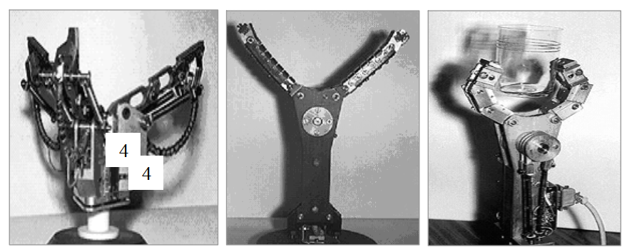 Разновидности робототехнических систем с адаптивными захватными устройствами на основе сплавов с эффектом памяти формы