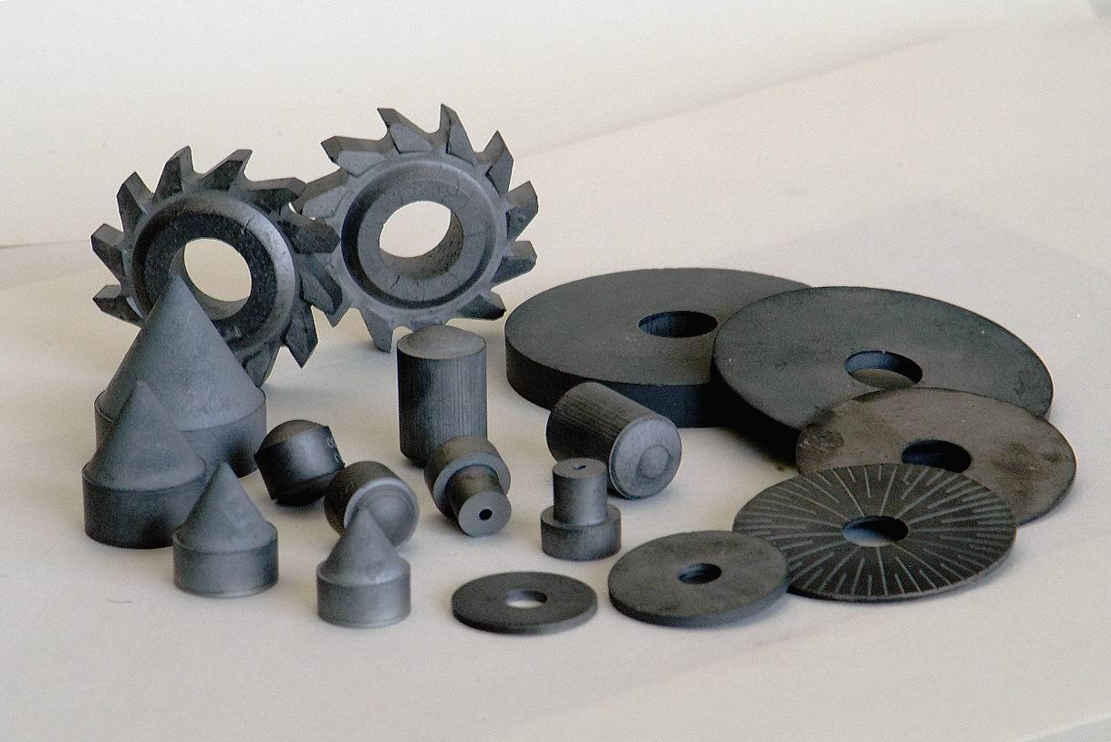 Режущие инструменты и детали, изготовленные из твёрдого сплава с модифицированной структурой на основе наночастиц карбида вольфрама